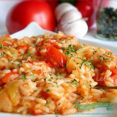 Ghiveci de legume - I Cook Different Baby Food Recipes, Meat Recipes, Vegetarian Recipes, Cooking Recipes, Healthy Recipes, Healthy Food, Food To Go, Food And Drink, Risotto