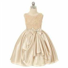 #Kids Dream #ApparelDresses #Kids #Dream #Girl #Champagne #Rosette #Satin #Pick #Flower #Girl #Dress Kids Dream Girl Champagne Rosette Satin Pick Up Flower Girl Dress 8 http://www.seapai.com/product.aspx?PID=7963373