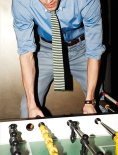 Wear It Now: Bright Striped Knit Ties: Perfect Wardrobe : Details @Fernando Rosas