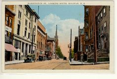 BARRINGTON STREET LOOKING SOUTH, HALIFAX, NOVA SCOTIA, NS PGG: I remember this street from the 50's!