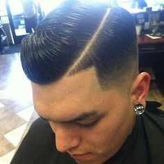 How to erase the line taper fade haircut??