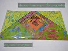 """""""Citrine Dream"""" Batik Fabric Charm Pack 12.7 x 12.7 or 5"""" x 5"""" pack of 42""""charms"""" $16.95"""