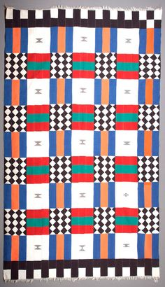 Africa | Textile from Mali, Songhai people | Cotton