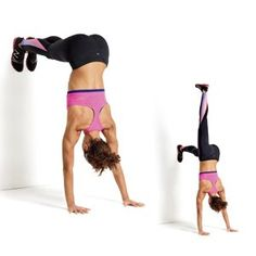 L Stand! I did this in yoga class today and I feel so accomplished!! Looks waaaay harder than it looks.