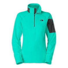 The North Face Women's Shirts & Sweaters WOMEN'S RDT 100 1/2 ZIP