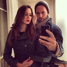 Because they explore foreign lands together.   27 Reasons Troian Bellisario And Patrick J. Adams Should Be Your OTP