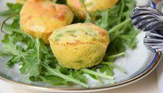 Mini muffin agli asparagi - Le Ricette di Francesca