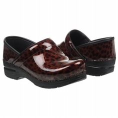 Just got a few pairs!  Dansko Women's Professional clogs in Brown Tortoise Shell. $135.00.  These are so comfortable for those 12 hour shifts.
