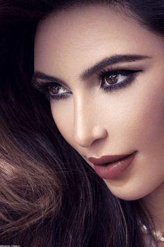 Kim Kardashian #MakeUp