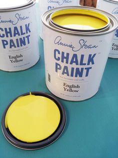 English Yellow Chalk Paint® decorative paint by Annie Sloan | Via Canadian stockist Malenka Originals