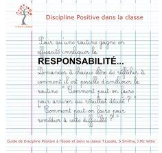 DP : Routine Responsabiliser les élèves