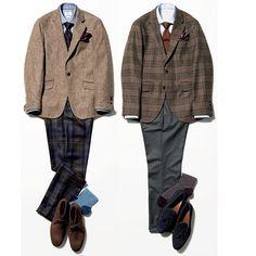 Smart Casual Men, Business Casual Men, Older Mens Fashion, Suit Fashion, Shirt And Tie Combinations, Estilo Preppy, Herve, Men's Wardrobe, Preppy Outfits