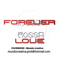 MUNDO ROSSA-PNG: LETRAS FOREVER LOVE PNG