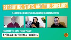 "Ep. 64: Recruiting, Stats, and ""The Sideline"" Volleyball Podcast with Annie DeLoid and Matt Stolz - YouTube"