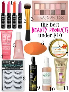the best beauty products under $10 — Hello Honey