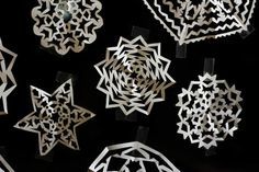 DIY Paper Snowflakes. Kimmy, pro-paper snowflake maker, shows you how to create your own jaw dropping paper snowflakes.