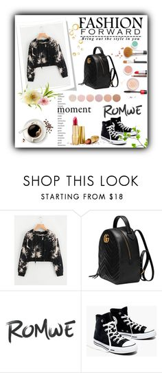"""""""Romwe"""" by maryam-nu ❤ liked on Polyvore featuring Gucci, Madewell and Deborah Lippmann"""