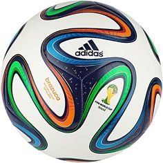 30489ad90fa Adidas Brazuca FIFA 2014 World Cup Top Glider Soccer Ball Size Dimensions   5 Sport  Football Color  White