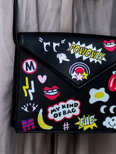 76665bbe00c2b Patches-Power  Diese Bag macht einfach gute Laune. Coole Taschen