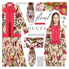 """""""Presenting the Gucci Garden Exclusive Collection"""" by barbarela11 ❤ liked on Polyvore featuring Gucci"""