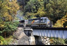 RailPictures.Net Photo: SBD 3574 Seaboard System EMD SD40-2 at Big Stone Gap, Virginia by Ron Flanary