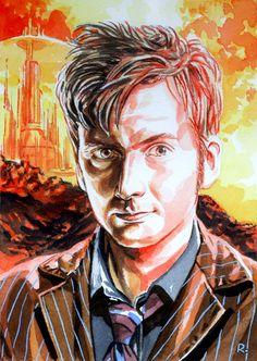 10th Doctor by Graeme Neil Reid