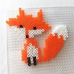 Fox hama beads by hma80h