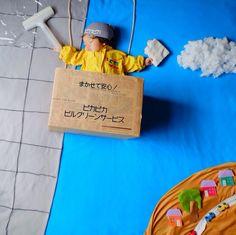 すやすや寝てる我が子をアートで飾ろう!人気の「寝相アート」が可愛い♡の画像7