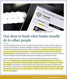 Banks get a taste of their own medicine