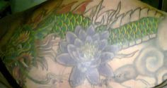 Ex dragon head under the lotus :)