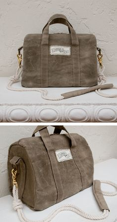 Make your own waxed canvas at home. DIY blog!!