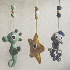 Watch This Video Incredible Crochet a Bear Ideas. Cutest Crochet a Bear Ideas. Crochet Baby Mobiles, Crochet Mobile, Crochet Baby Toys, Crochet Gifts, Cute Crochet, Crochet For Kids, Baby Knitting, Baby Sewing Projects, Crochet Projects