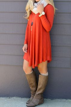 Solid Color V Neck Long Sleeve Loose Irregular Casual Party Pleated Dress