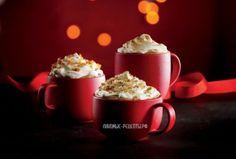 Орехово-ирисный латте как в Старбакс (Starbucks) пошаговый рецепт