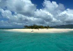 Sandy Spit Desert Island BVI