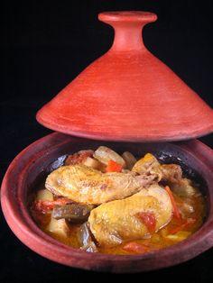 Tajine de poulet : Recette de Tajine de poulet - Marmiton