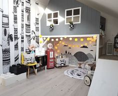 """OMG this """"mommo design: LOFT BEDS"""" post has got me wanting my own house so bad! Would love to create a double story one of these for my boys! Home Room Design, Kids Room Design, Bunk Bed Designs, Kid Beds, House Rooms, Boy Room, Decoration, Kids Bedroom, Loft Beds"""