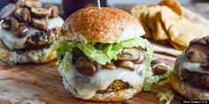 Veggie burgers. Some good relish ideas for the regular variety as well