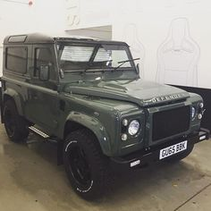 Here's a preview of @maxchilton's Twisted Defender! Refined and powerful... -  #TwistedDefender #WorkInProgress #Defender #LandRover #LandRoverDefender #Style #Power #4x4 #Lifestyle #Speed #AntiOrdinary #MaxChilton #Yorkshire #BestOfBritish #Handmade #Handcrafted #Premium #Modified #Automotive #CustomMade #Customised