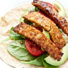 A super easy tempeh bacon recipe, that is quite delicious!