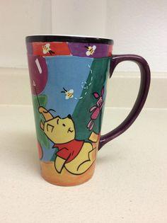 "Disney Store 6"" Winnie The Pooh Tigger Piglet Tall Latte Coffee Mug Cup 20oz #TheDisneyStore #WinnieThePooh"