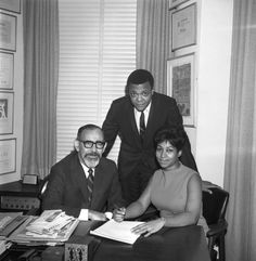Aretha Franklin: Aretha Franklin starts her professional career as a singer as she signs a contract with Atlantic Records on November 21, 1966 in New York City, New York. The two men that played a major part in shaping her career early on, husband and manager Ted White (C) and music producer Jerry Wexler (L), are there for the major moment in music history.  (Photo by PoPsie Randolph/Michael Ochs Archives/Getty Images)