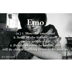 "this is why i don't really mind getting called ""emo"" anymore (used to hate it but i'm ok with it now)<< I take emo as a compliment. Haha you tryna insult me by calling me emo? Haha no no you're right I know I'm emo af thx Abbey Dawn, Kawaii Clothes, Infp, He's Mine, Xiao Li, Emo People, Cute Emo Boys, Hot Emo Guys, Emo Scene"
