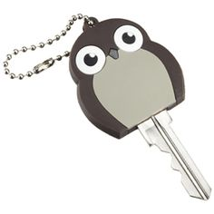 The Container Store > Owl Flash Light Key Cap - wouldn't mind finding different shape