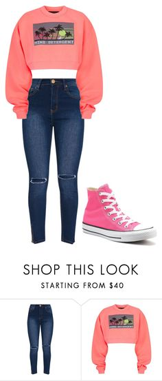 """""""Untitled #357"""" by thenerdyfairy on Polyvore featuring Alexander Wang and Converse"""