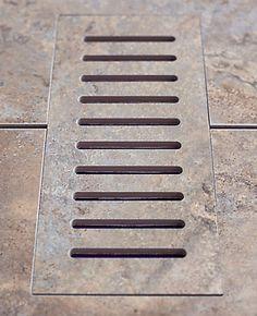 How to makeover your floor register vents Bathroom Flooring, Vinyl Flooring, Floor Vent Covers, Fireplace Design, Porcelain Floor, New Kitchen, Home Projects, Home Improvement, Outdoor Decor