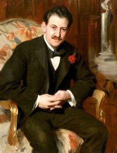 Anders Zorn (Sweden, 1860-1920). Сэмюэл Унтермайер (1858-1940), 1901 Нью-Йорк, Галерея исторического общества
