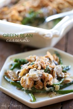 Green Bean Casserole is a classic Thanksgiving side dish and this homemade version is DELICIOUS! A definite must-try recipe!