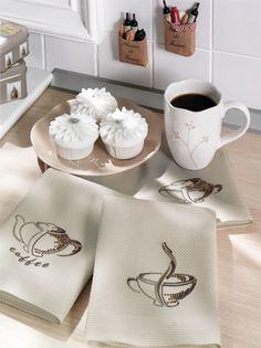 Coffee Mutfak Peçetesi