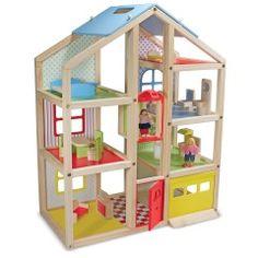 Melissa & Doug Hi-Rise Puppenhaus 12462